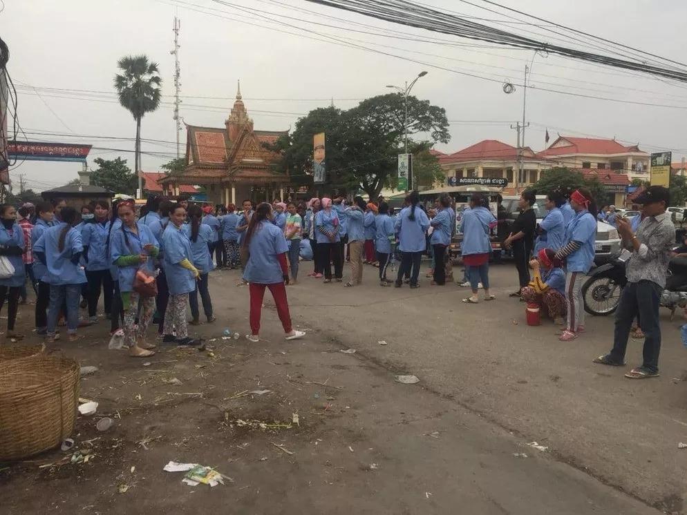 柬埔寨再次爆发大罢工,在柬投资开厂有多难?0.jpg