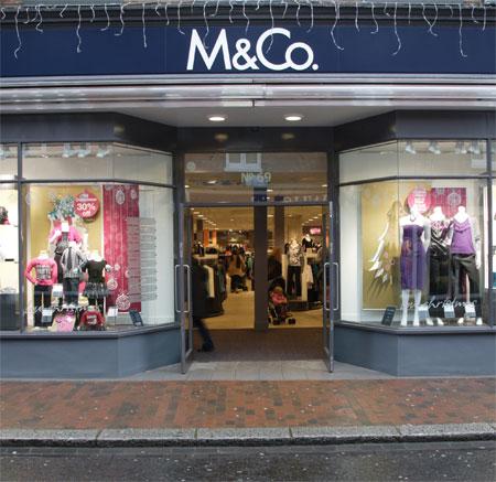 时装零售商M&Co将关闭47家门店和大范围的裁员