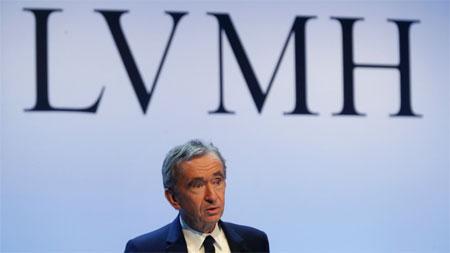 LVMH集团总裁Bernard Arnault收购Lagardère 27%股份