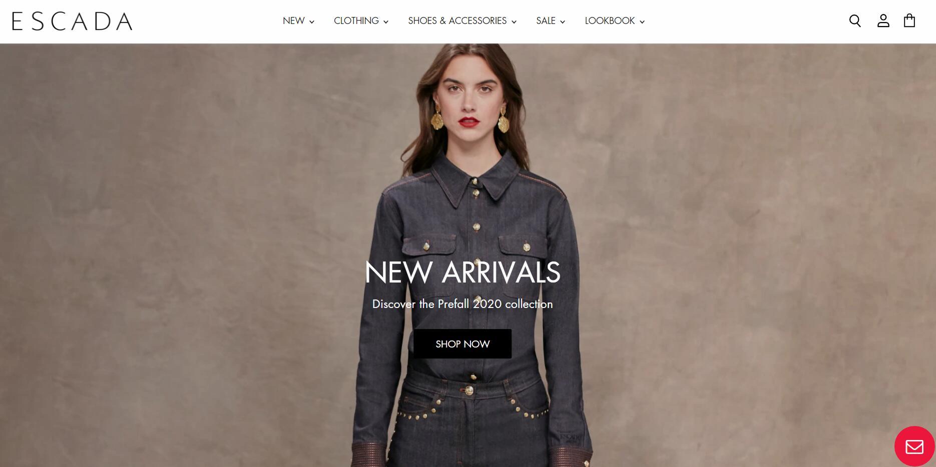 德国时尚女装品牌Escada第二度申请破产-CFW时尚