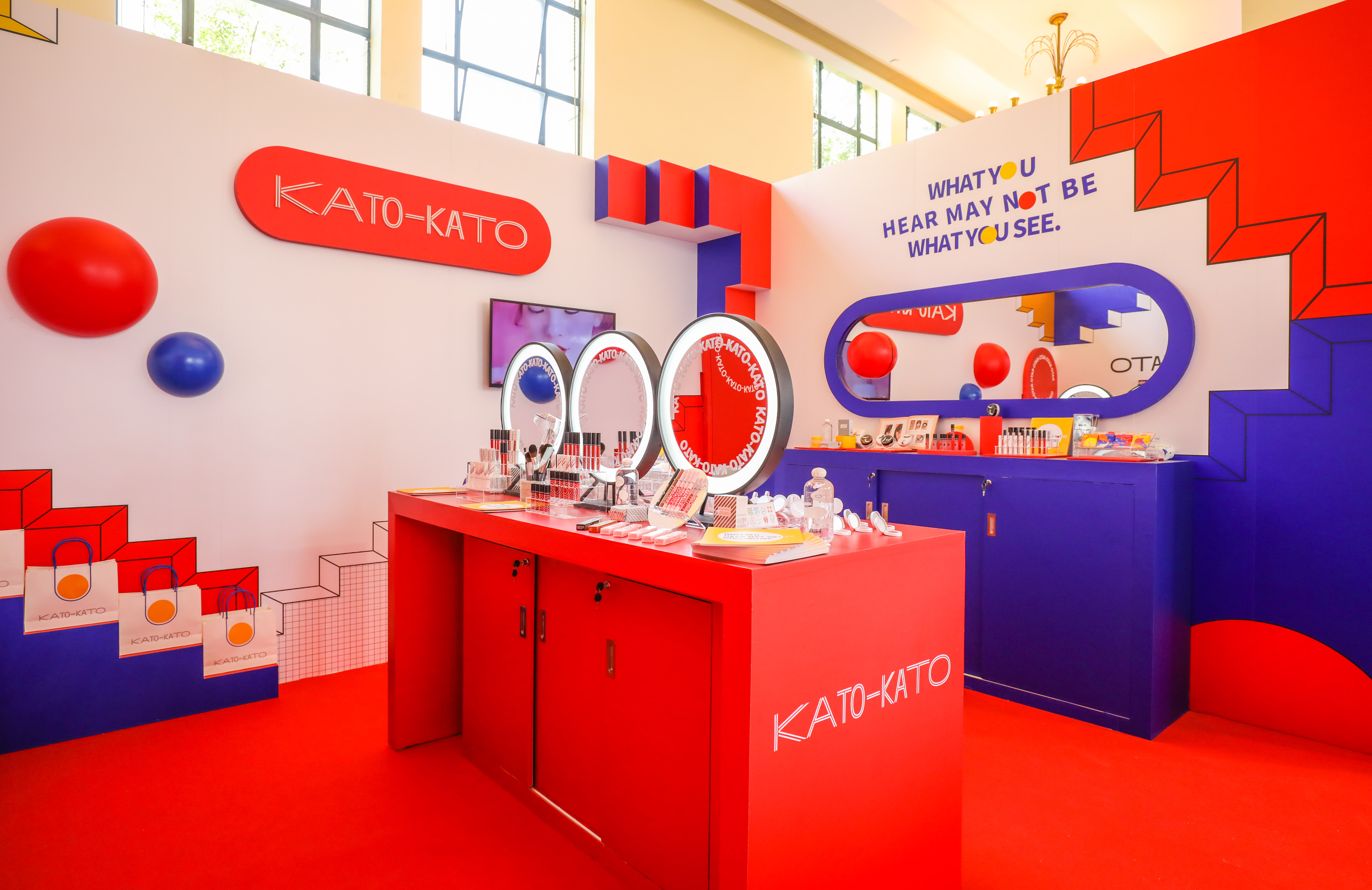 玩乐色彩时髦感 KATO-KATO为Z世代女孩打造奇趣快闪空间插图