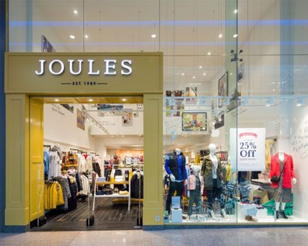 joules集团21财年一季度收入下滑18% 但要好于预期