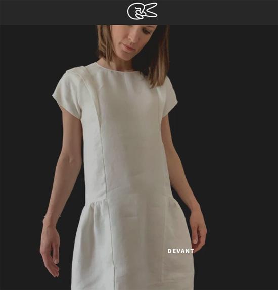 香奈儿等时尚品牌的高定裁缝免费分享服装设计图