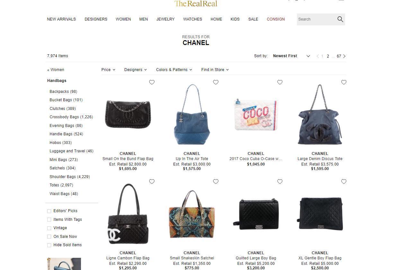 两年讼事难分难解,Chanel 与美利坚合众国二手侈靡品网站 The RealReal 承诺举行庭外融合