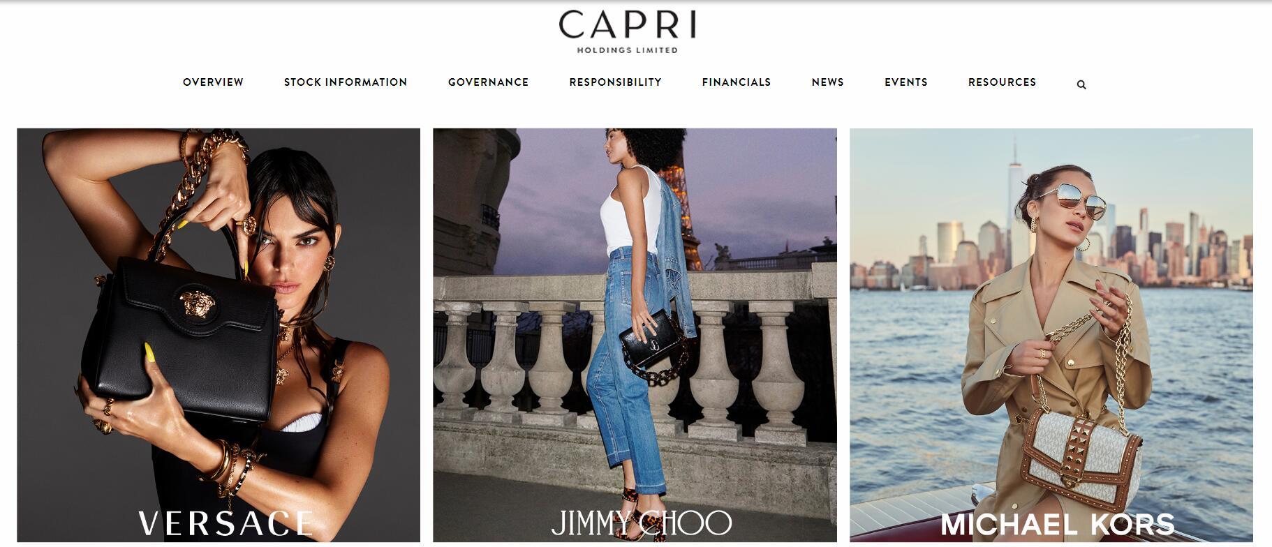 Capri 团体委派亚太地区区高管;Valentino 委派大中华区CEO