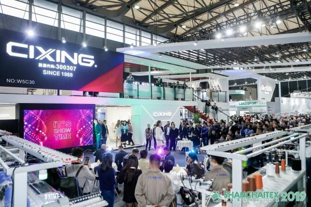 ShanghaiTex 2021纺织科学银河汇聚了当前的纺织时尚技术创新。跨境合作与升级改造计划