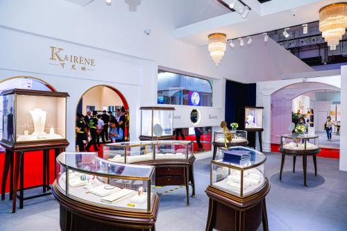 K&IRENE参加了首届在海南闪亮的中国国际消费品博览会