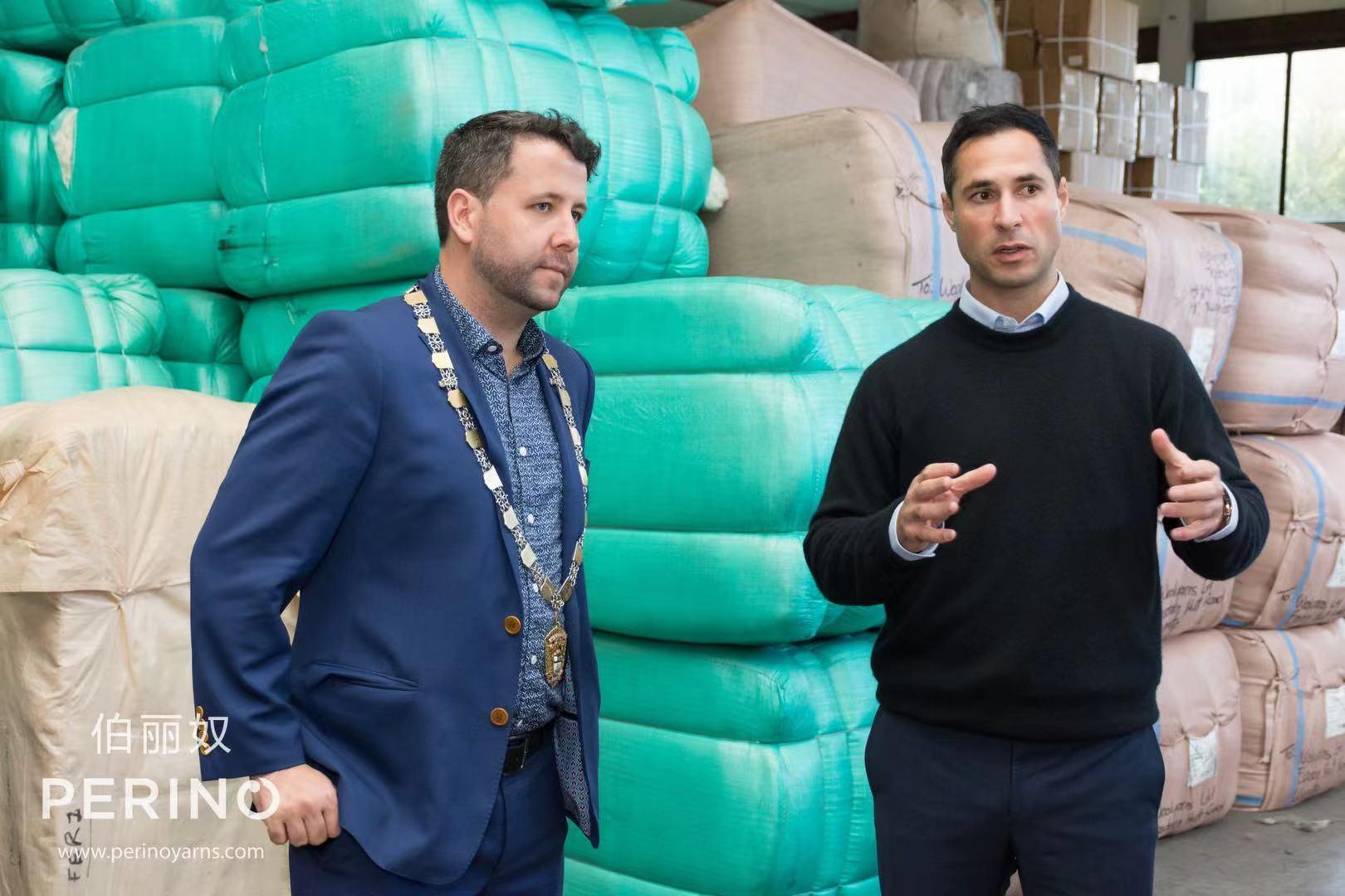 市长到访伍羊纱线工场 为其优质纱线产物和革新本领打call