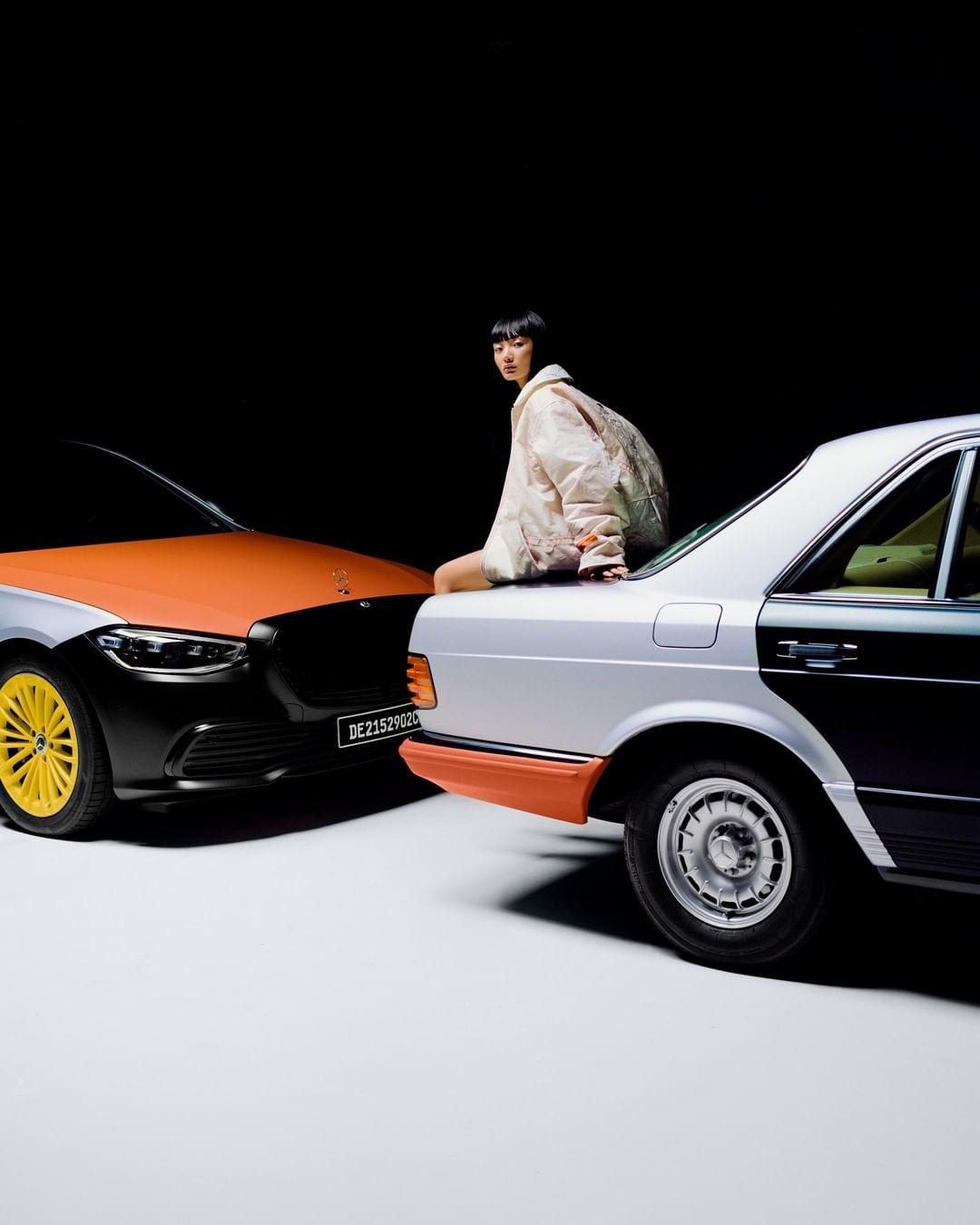 """奔驰与当红潮牌设计师 Heron Preston 合作推出服装系列,面料来自""""安全气囊"""""""