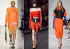 下一个春天准备好迎接设计师们的橙色轰炸吧!