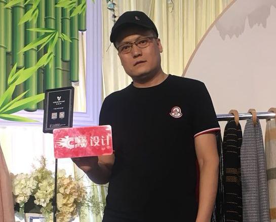 2018广东时装周-秋季| 专访围金访:围巾是服装中的贵族