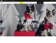 Moncler 与高级宠物服装品牌 Poldo Dog Couture 再度携手,为狗狗推出冬装胶囊系列