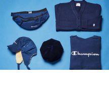 Champion冬日Navy Styling!深蓝色系单品齐发售!