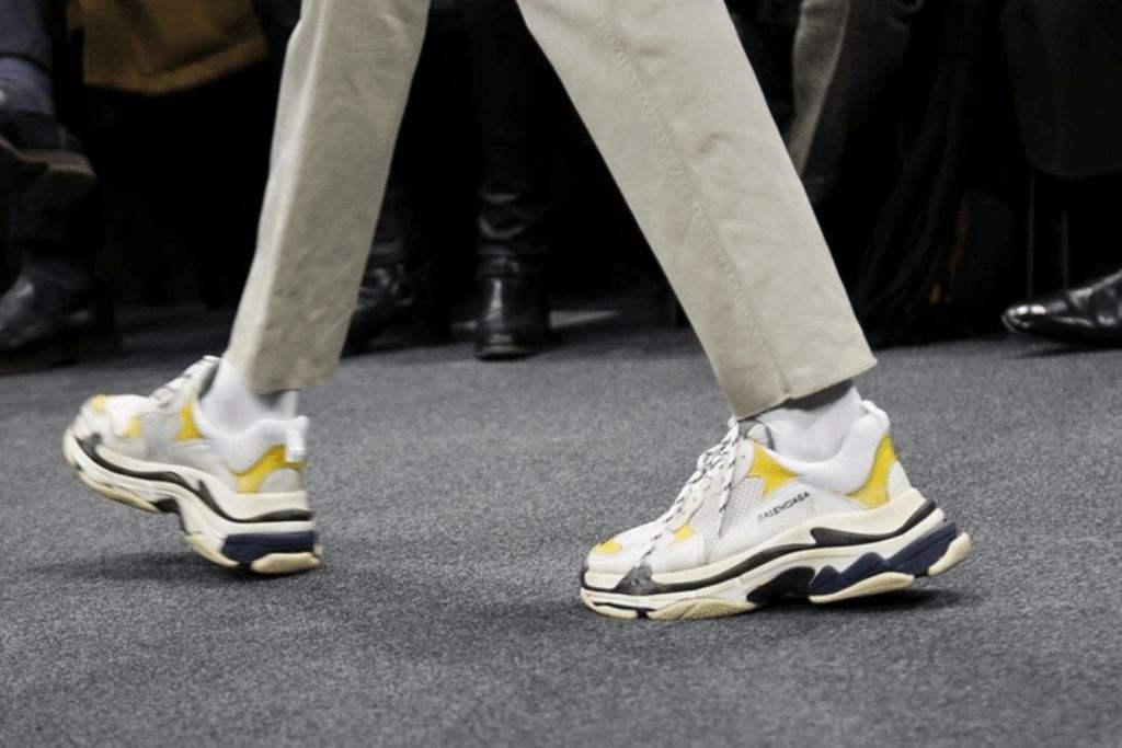 Balenciaga Triple S设计师推出自主运动鞋品牌