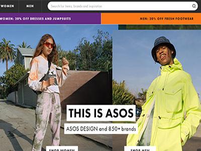 英国时尚电商集团ASOS销售继续放缓 股价大跌逾7%