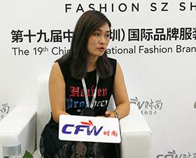时尚深圳展|专访关耳文化销售经理李于会